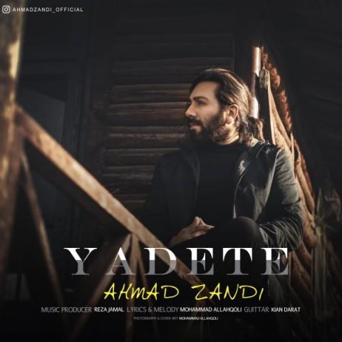 دانلود موزیک جدید احمد زندی یادته
