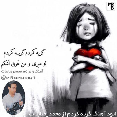 دانلود موزیک جدید محمدرضا بیات گریه کردم